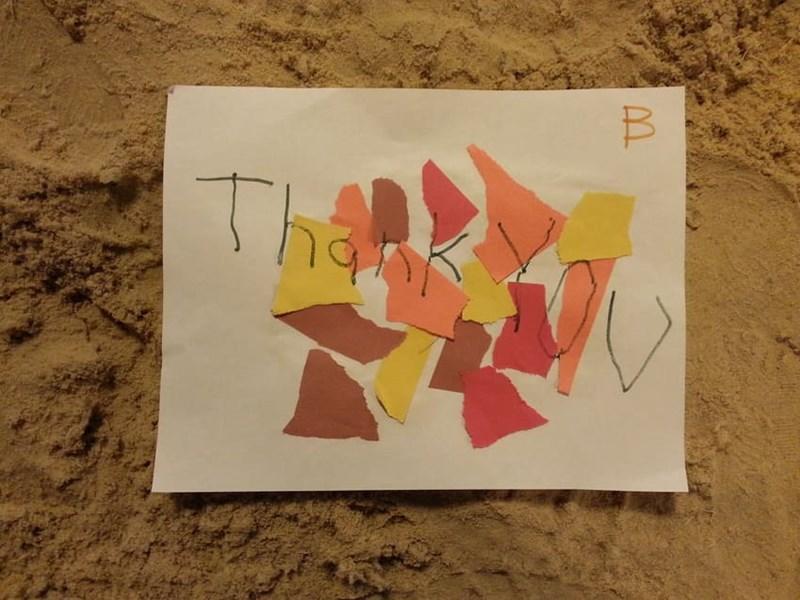 Becca's card