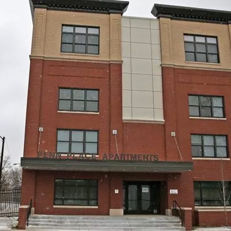 Penn Place Permanent Supportive Housing Community (Indianapolis)