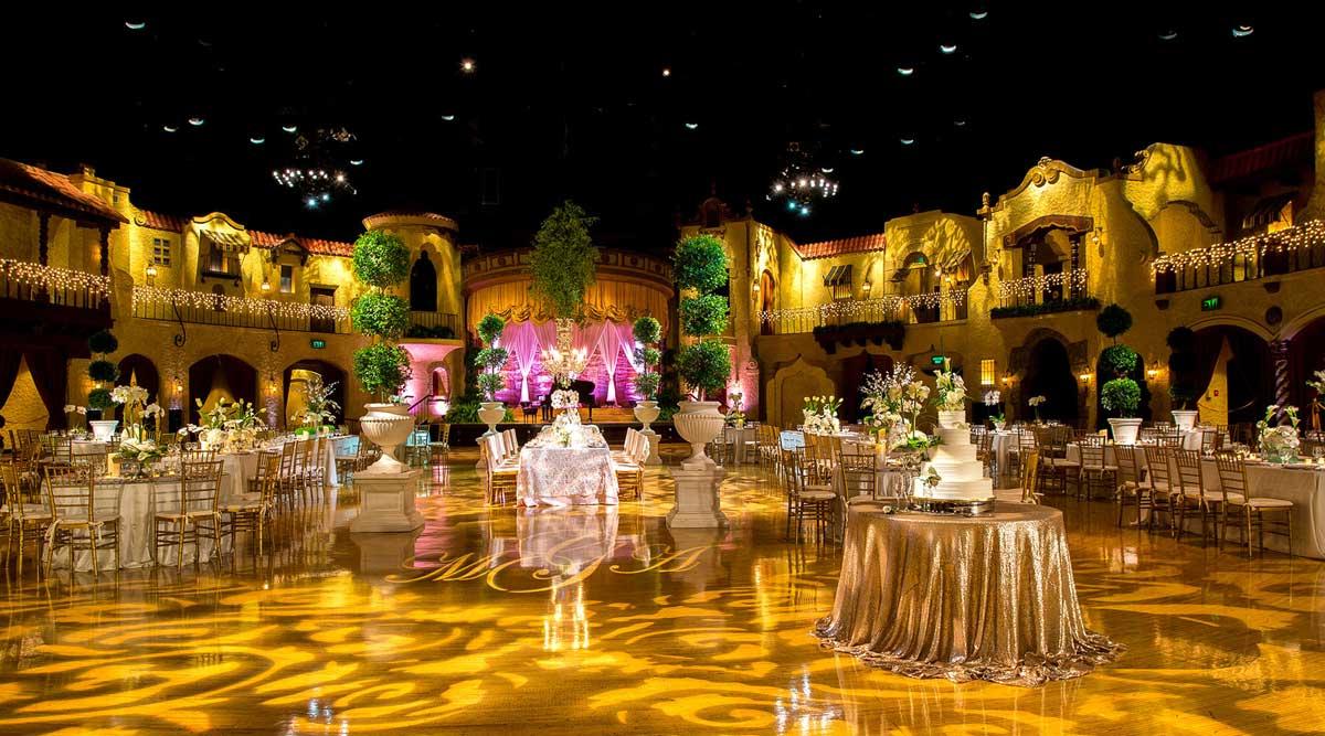 Wedding Event at Indiana Roof Ballroom venue