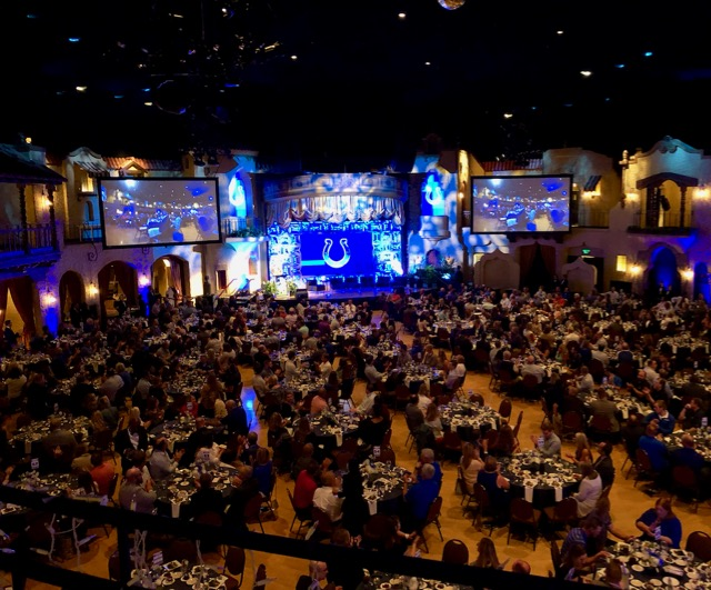 Indiana Roof ballroom hosts Colts tip-off lunch 2019