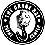 The Crane Bay venue logo located in Indianapolis Indiana