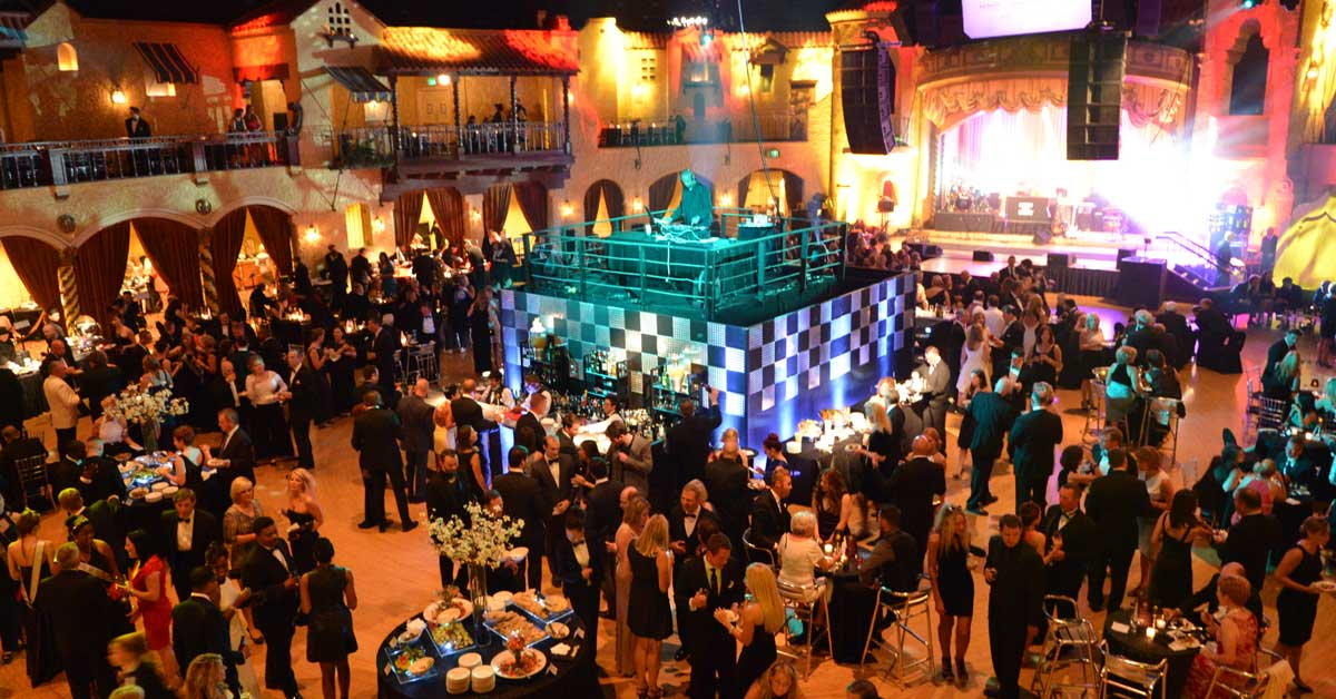 Corporate Party at the Indiana Roof Ballroom in Downtown Indianapolis