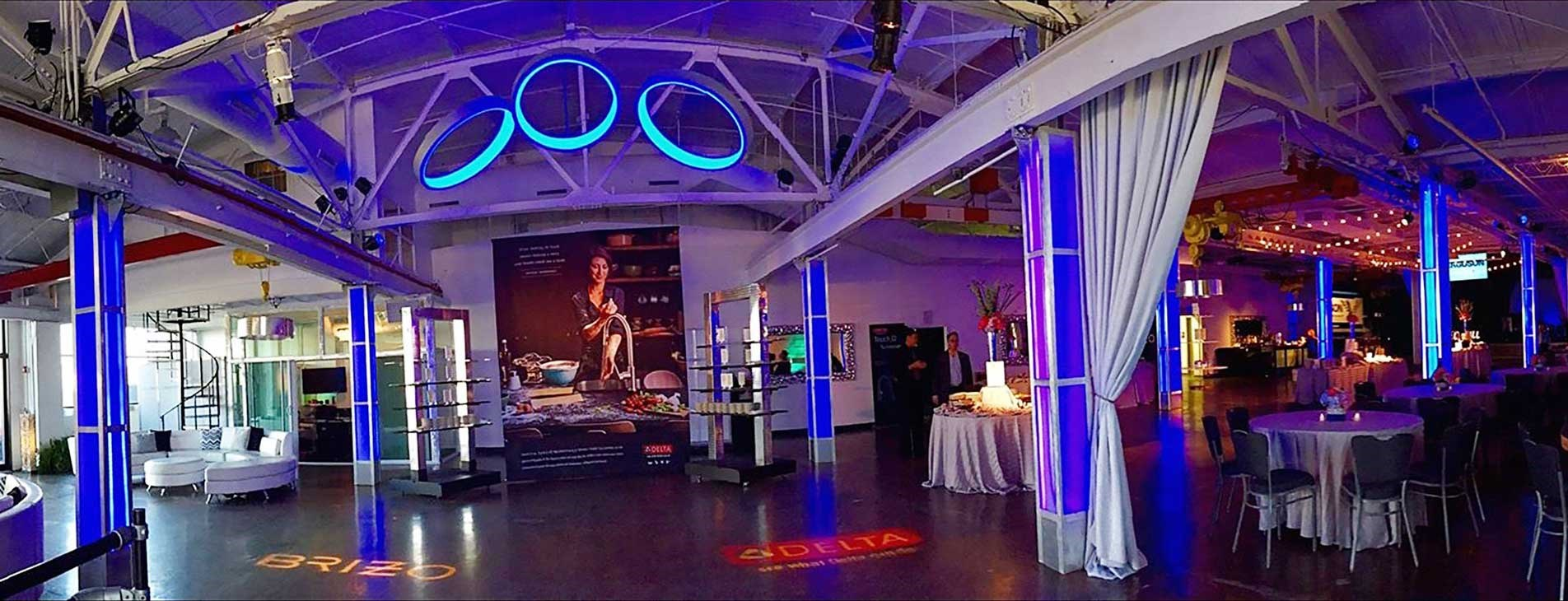 Corporate Event at The Crane Bay Venue in Indianapolis, Indiana by Crystal Catering