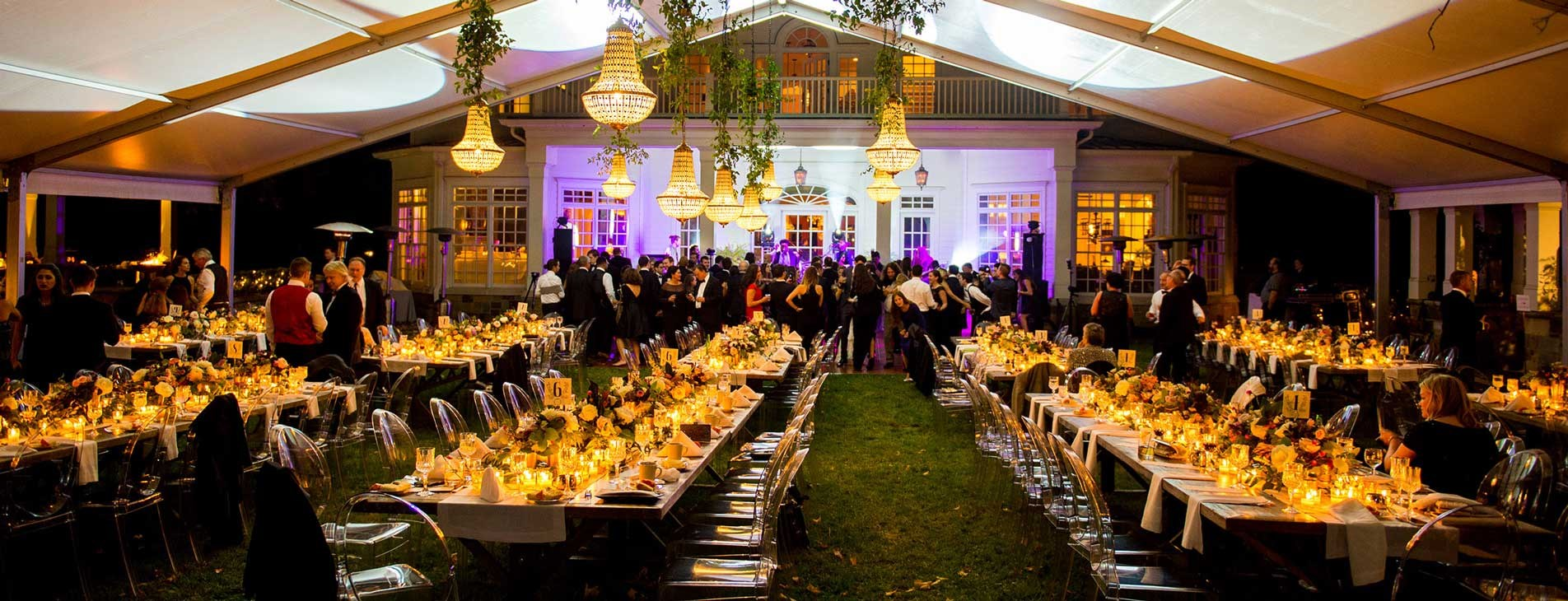 Crystal Catering an Off-site event at an outside venue