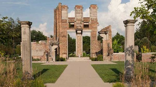 The Ruins at Holliday Park make a great space for any event in Indianapolis