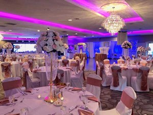 Formal Wedding at The Ballroom at The Willows event venue in Indianapolis, Indiana