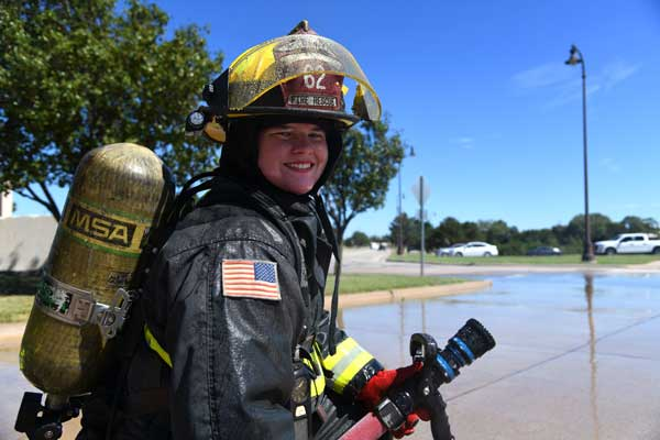 Tom Farrington, a firefighter with the Indianapolis Fire Department