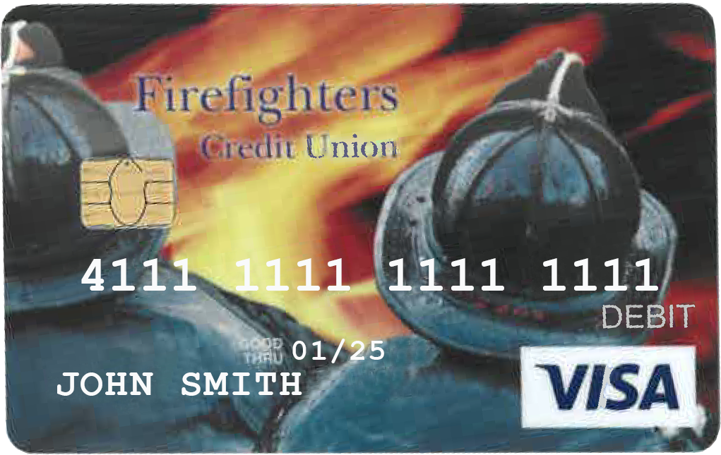 Firefighters Credit Union Debit Card