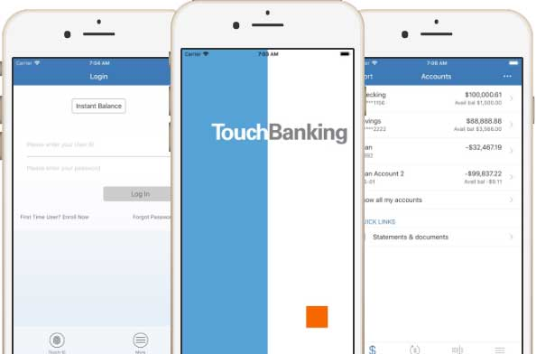 touchBanking-example