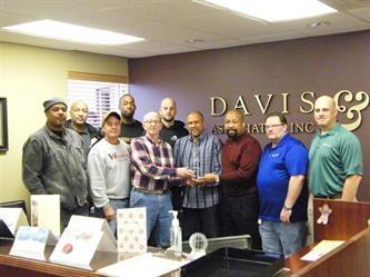 Davis & Associates Safety Award 2013