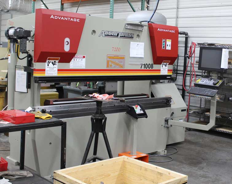 Accurpress Press Brake
