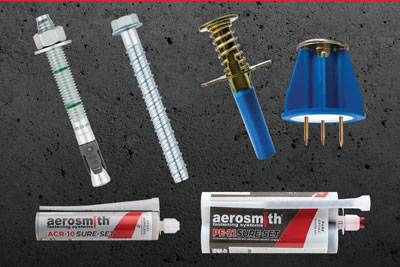 Anchoring Product Line From Aerosmith Fastening
