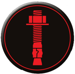 Aerosmith Fastening System's Mechanical Anchoring Icon