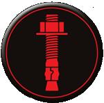 Aerosmith Fastening System's Mechanical Anchoring Icon