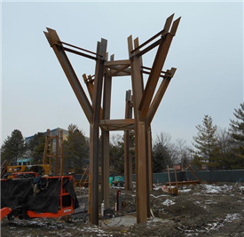Indianapolis Zoo Bicentennial Pavilion Structural Steel Project