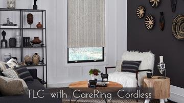 CareRING Cordless Shades