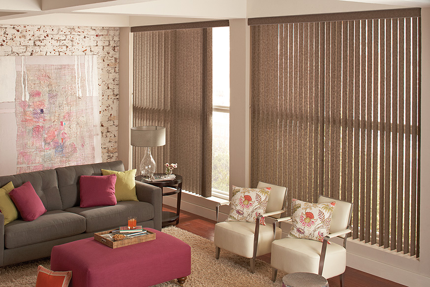 Vertical Blinds Beautiful Windows Lafayette Interior