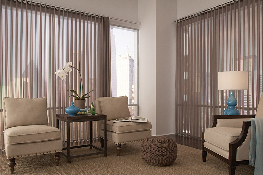 Sheer Vertical Blinds Beautiful Windows Lafayette