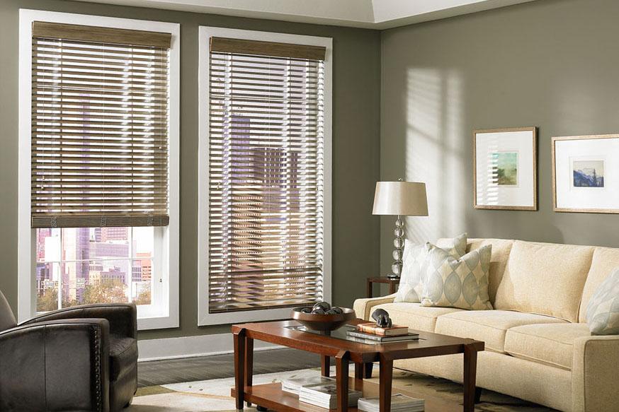 Custom Wood Blinds Window Treatments Lafayette