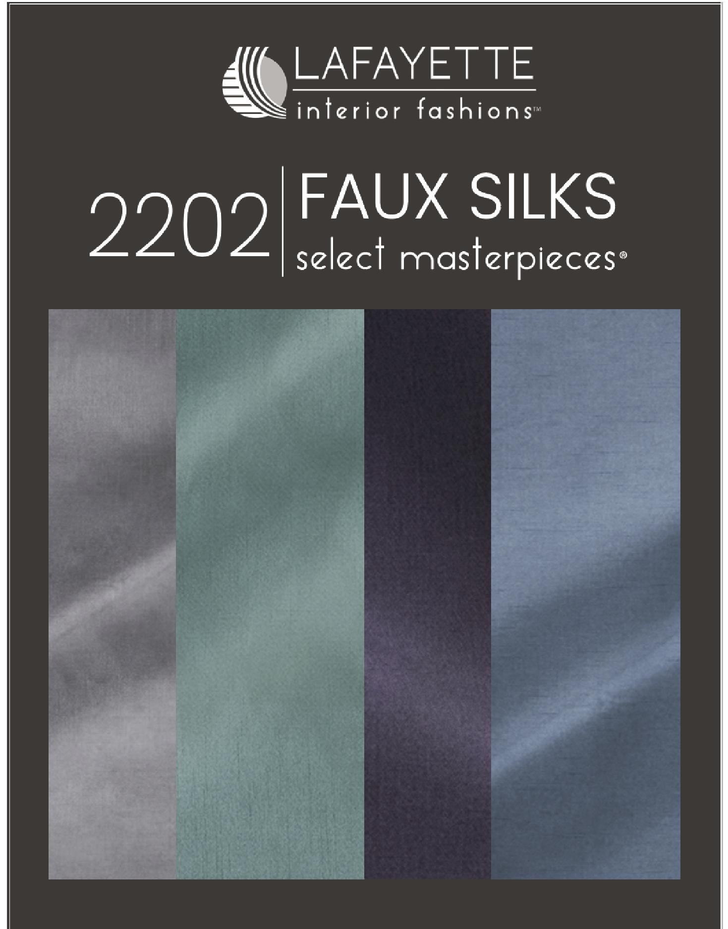 Faux Silks 2202