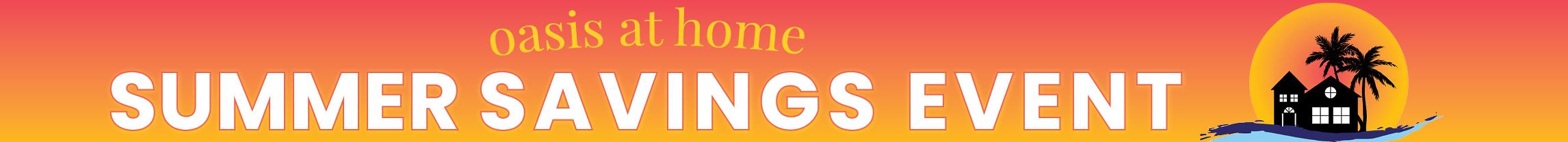2020 Summer Savings Event Banner