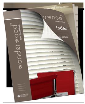 Wonderwood Faux Wood Blinds