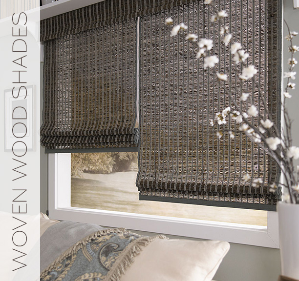 LIF Sheer Woven Wood Shades (Lafayette Interior Fashions)
