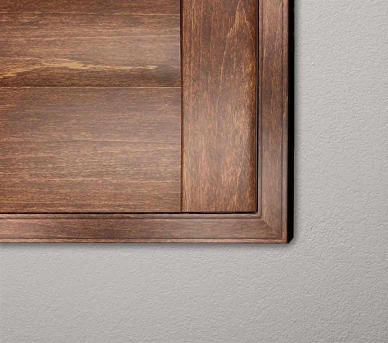 Stained-Parke-L-frame-chestnut