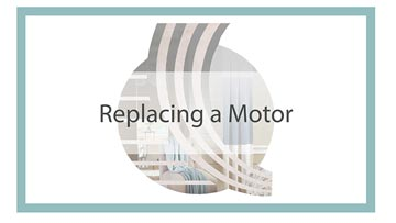 Replacing a Motor
