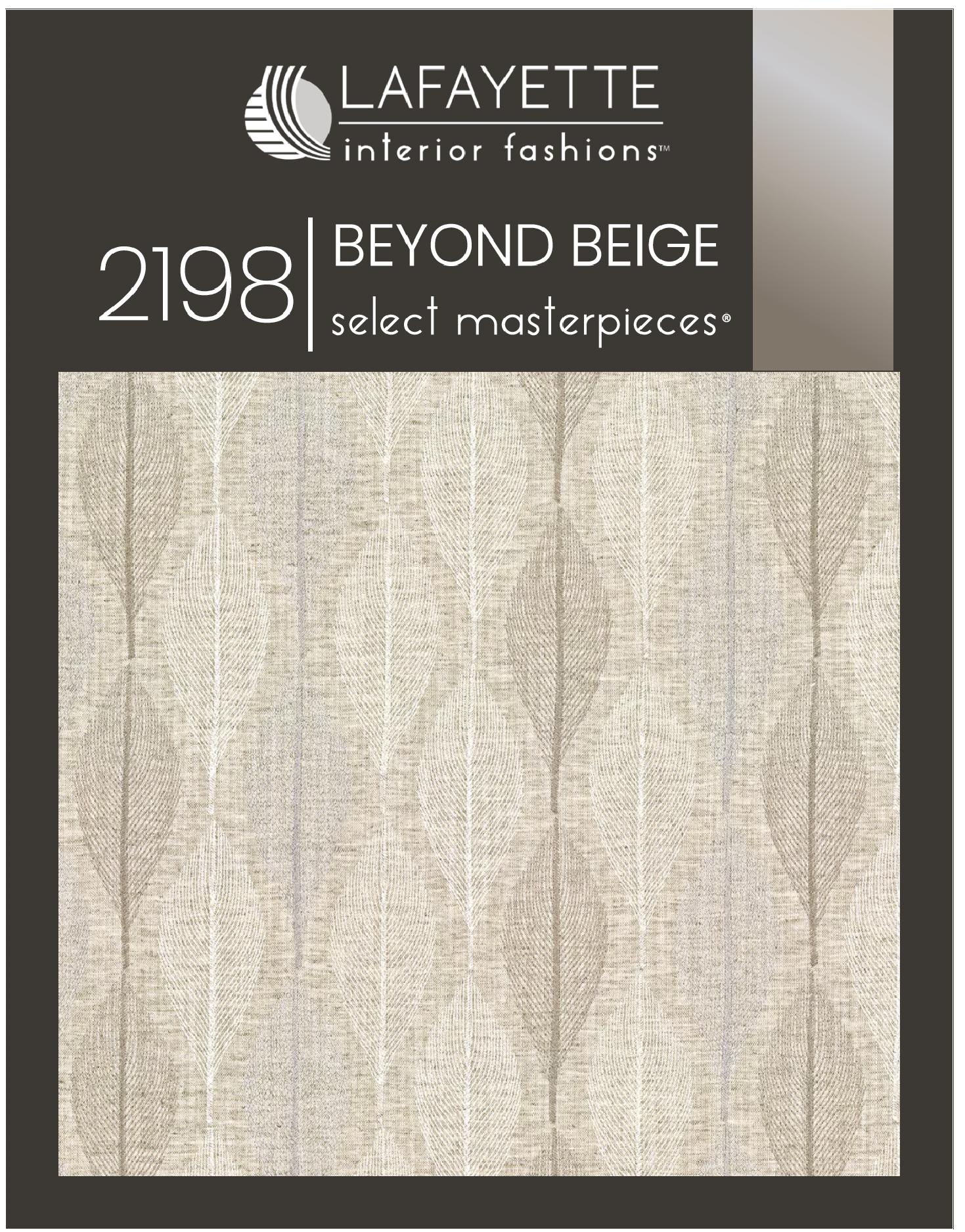Beyond Beige 2198