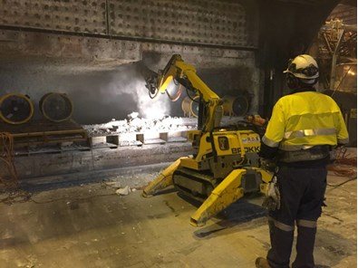 Refractory Tear Out - Refractory Removal - Refractory Demolition