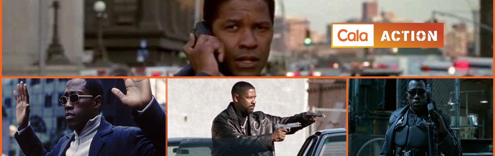 CalaAction - Denzel Washington vs. Wesley Snipes