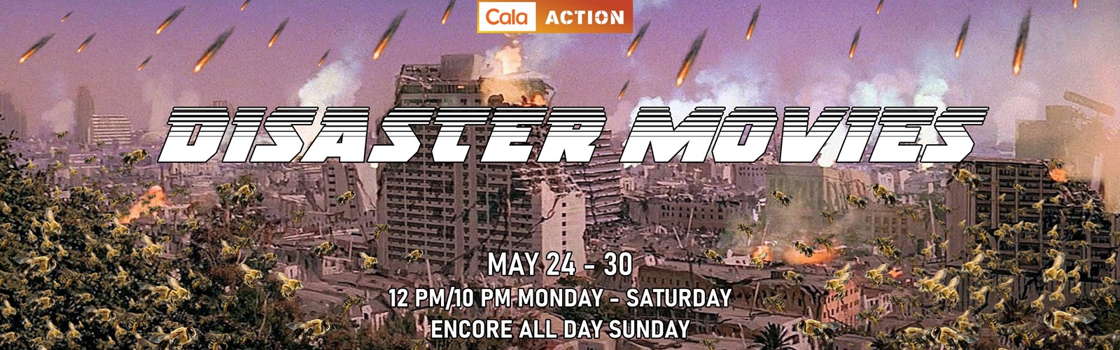 Disaster Movies Web Banner Image