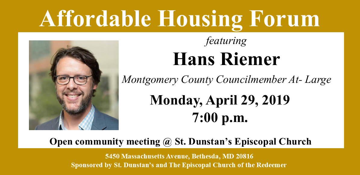 Affordable Housing Forum 2019