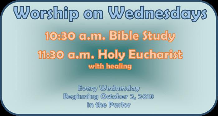 Worship on Wednesday Slide
