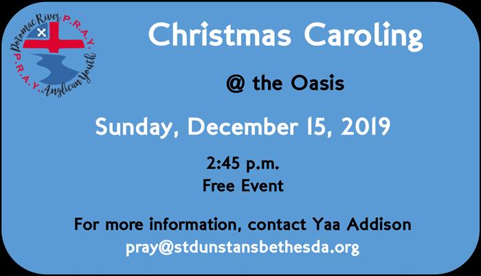 Pray Event Caroling 2019