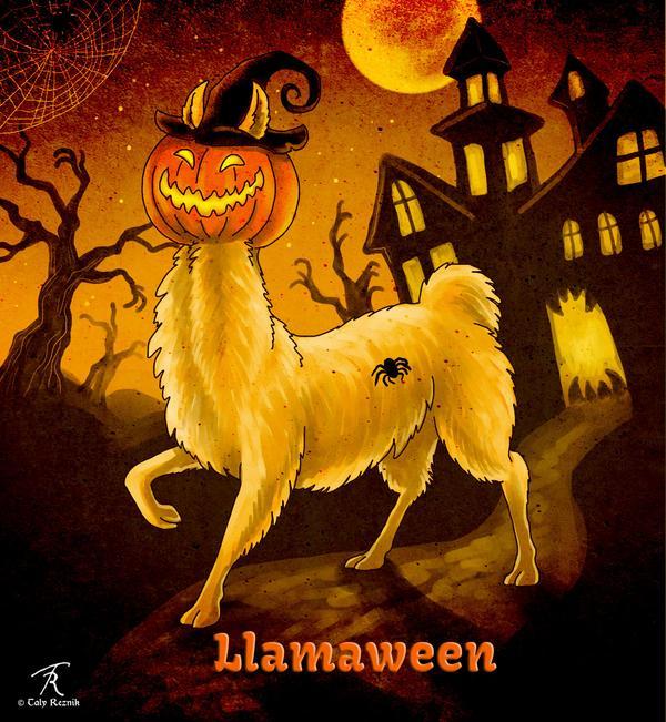 Llamaween