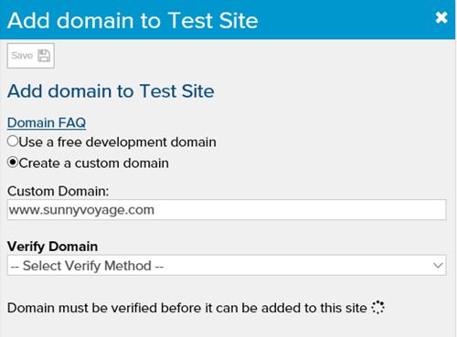 add-domain-not-verified