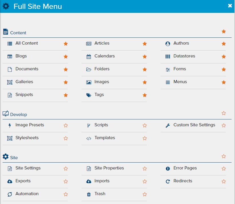 full-site-menu
