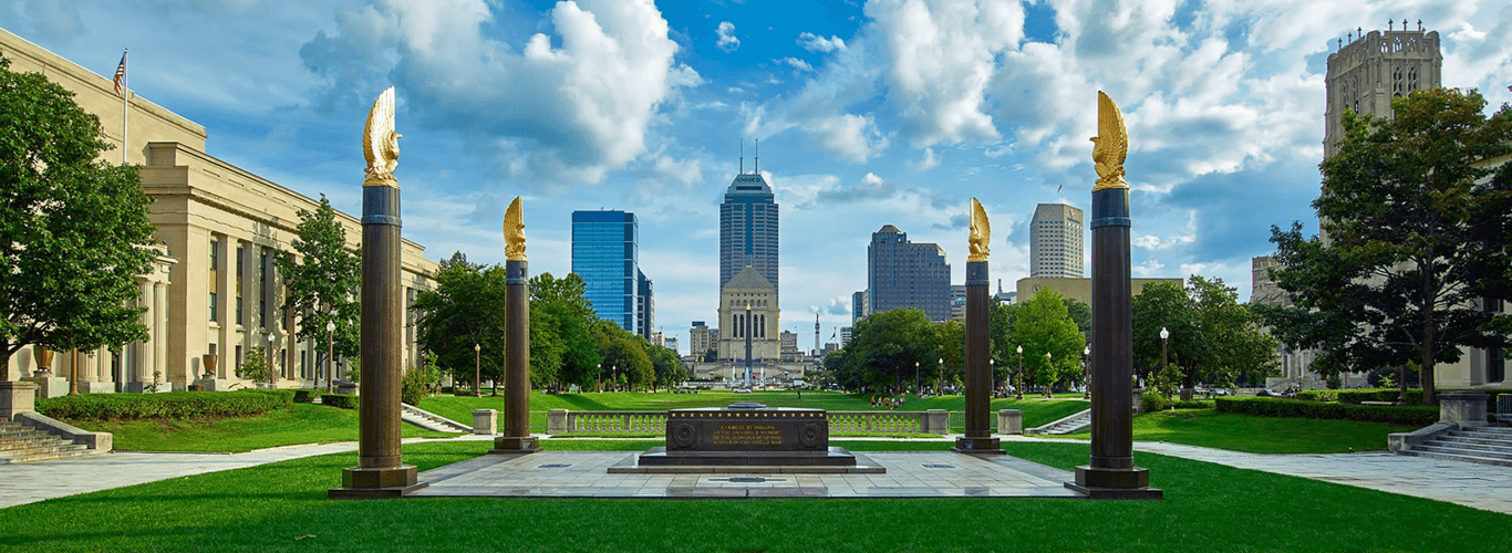 American Legion Mall, Indianapolis, Indiana