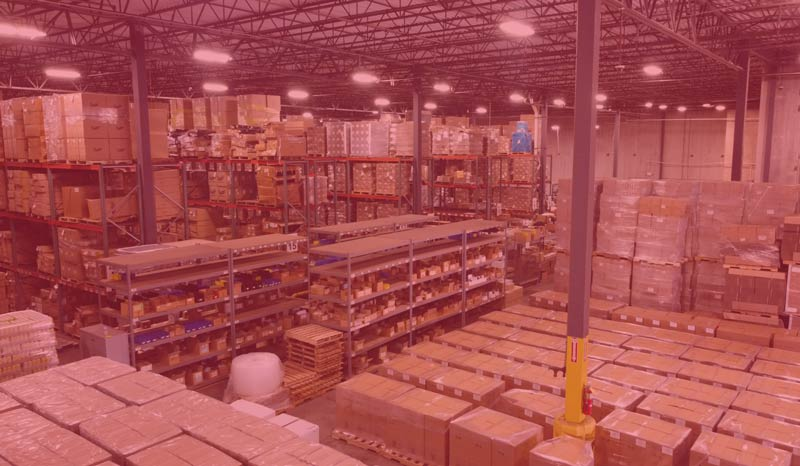 Warehousing and inventory management at Draco LLC in Indianapolis