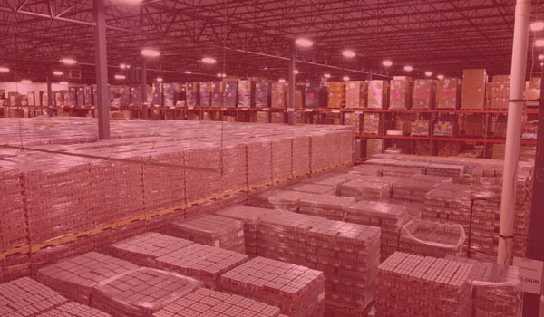 Inventory management and warehousing at Draco LLC in Indianapolis