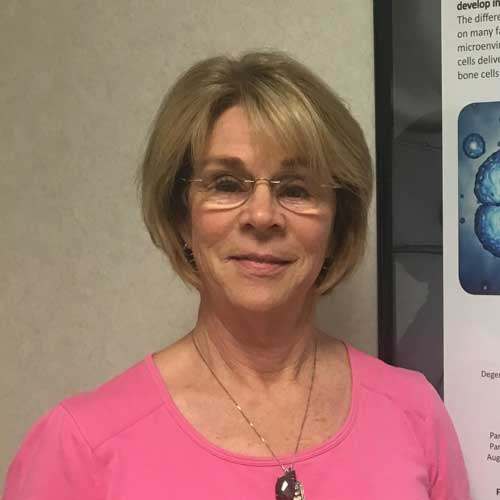 Stem cell injections stopped knee pain for her completely