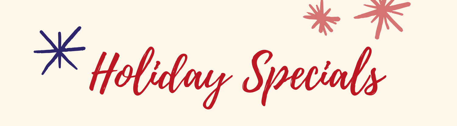 Holiday Specials Banner