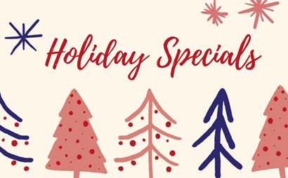 Holiday Specials Graphic