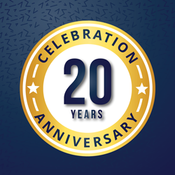Dr. Hunter, neurosurgeon in Gastonia, NC, celebrates his 20 year anniversary at the Spine Clinic (source: freepik.com)