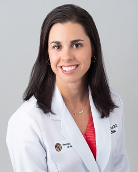 NSSC Megan Wilkinson head shot lab coat