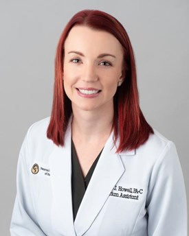 Danielle Howell, PA-C, Neuroscience & Spine Center of the Carolinas in Gastonia, North Carolina
