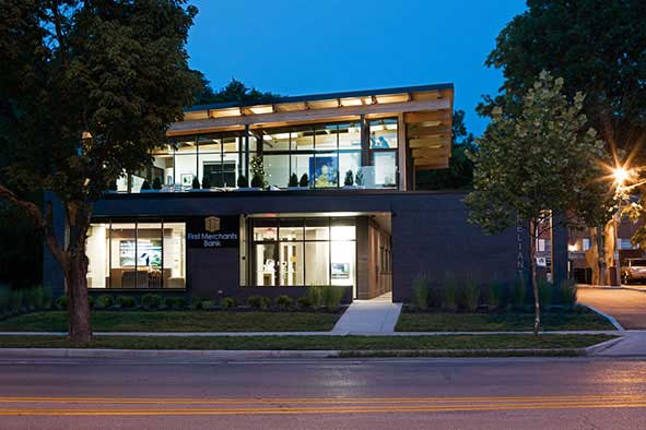 Office Building featuring Thermocore Insulated Panels in Indianapolis