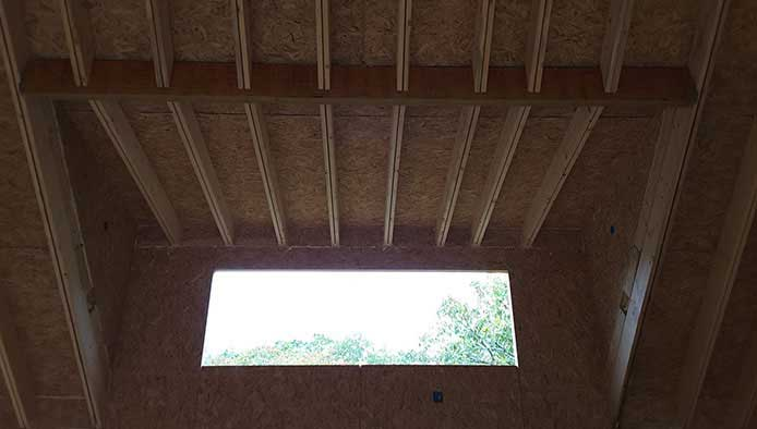 CNC Cut to Specification in SIP | Thermocore Polyurethane Insulated Panels on a Residential Project